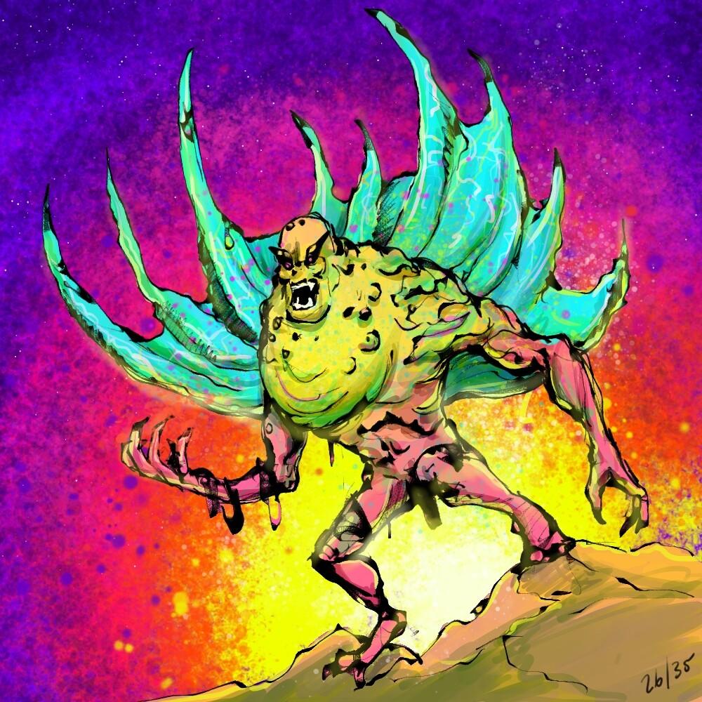 Day 26, Mutant amphibian