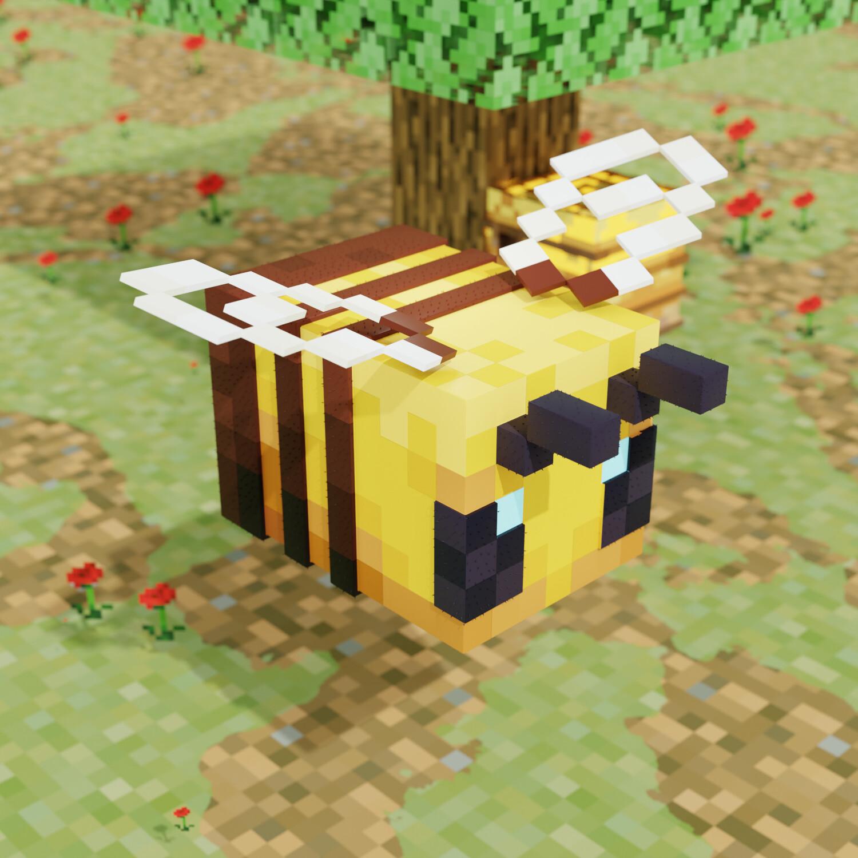 ArtStation Minecraft Bee Maik Arnold