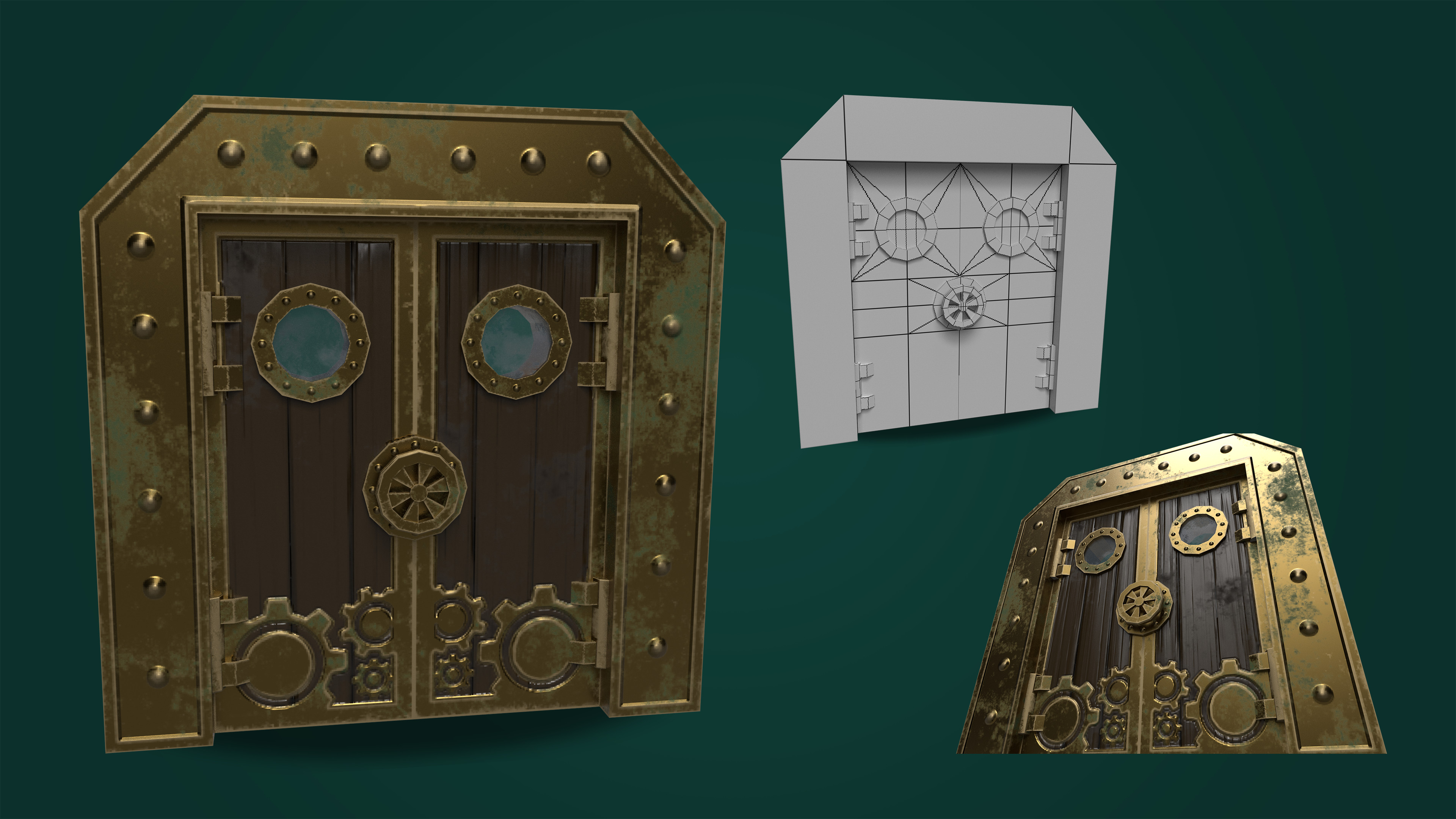 Steampunk Door.