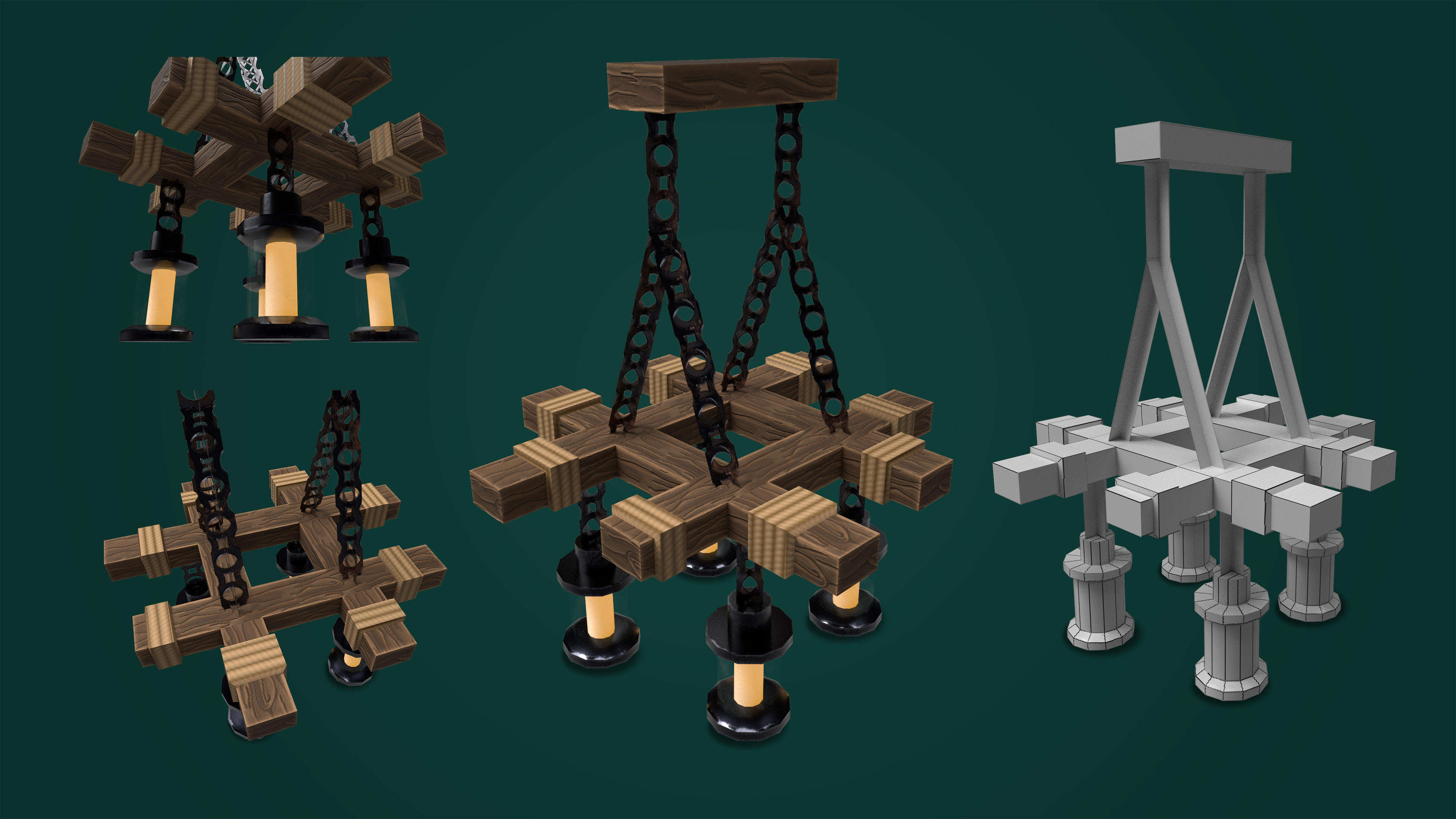 Rustic Chandelier.