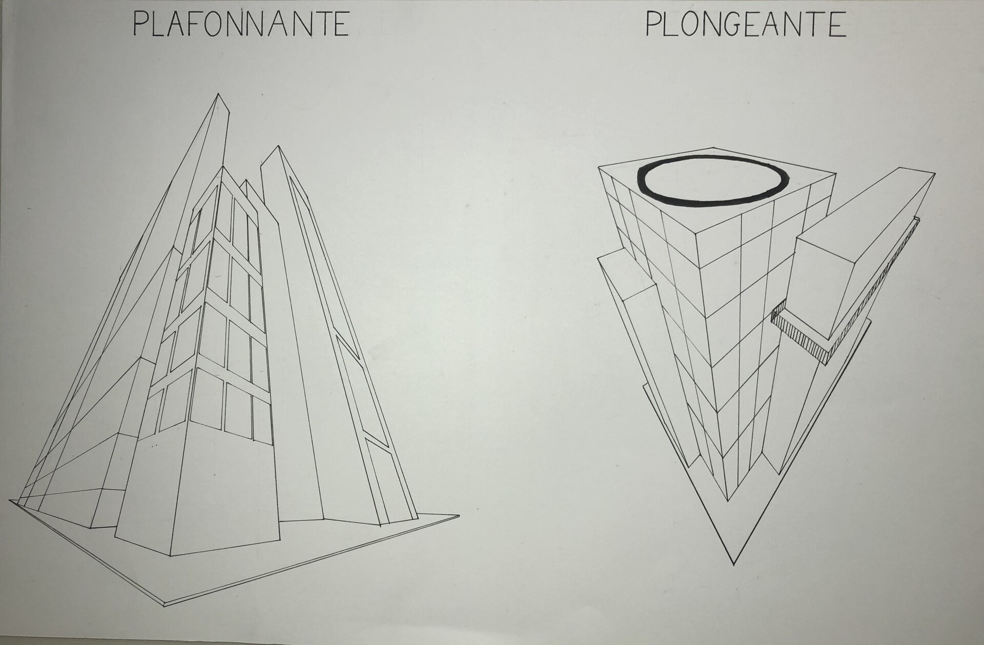 Louise Becart Perspective Of Buildings