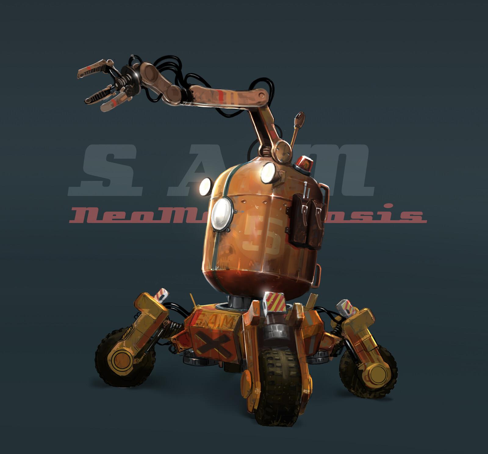 S.A.M the Robot!