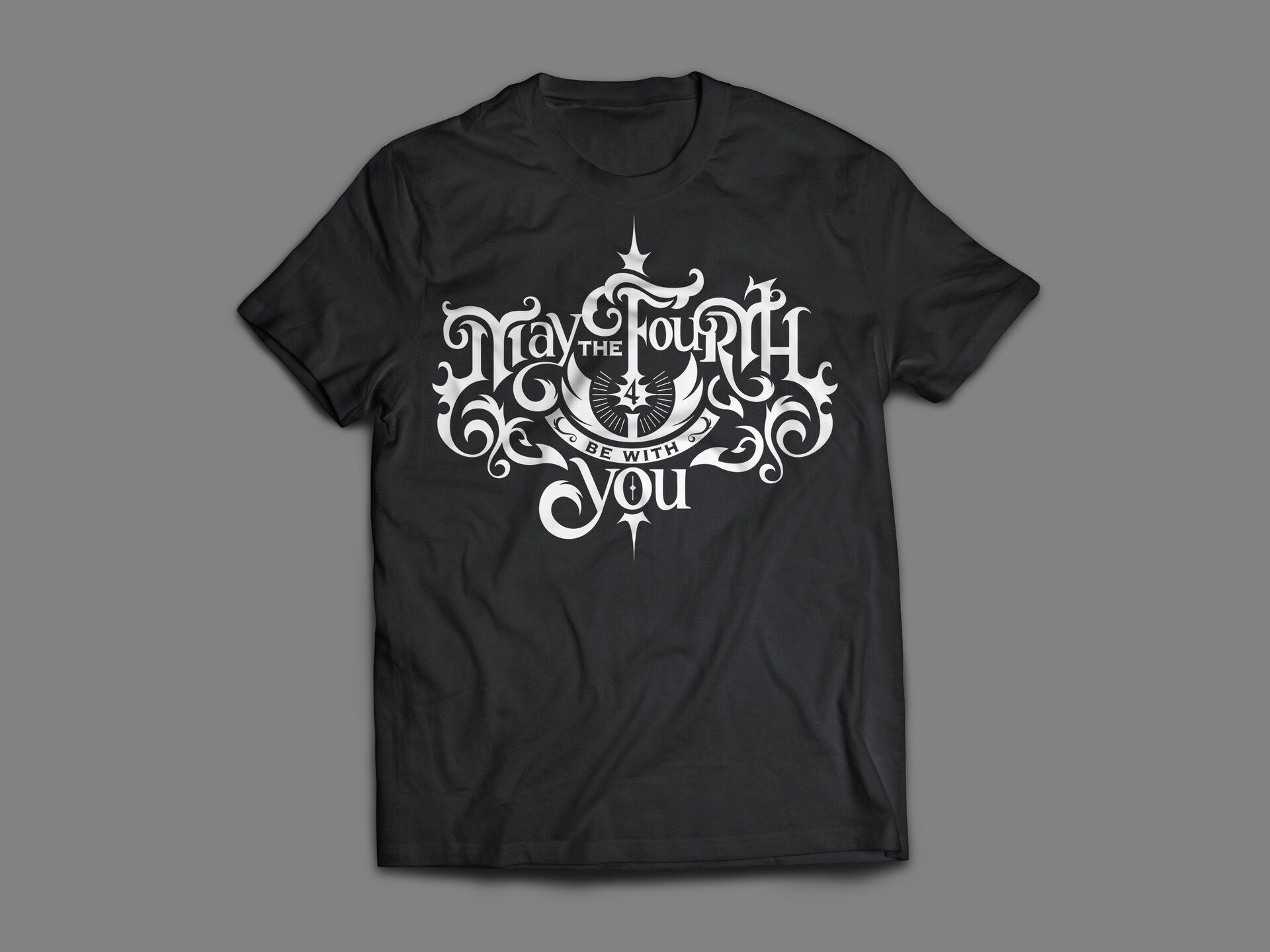 May the Fourth be with You Tshirt Mockup