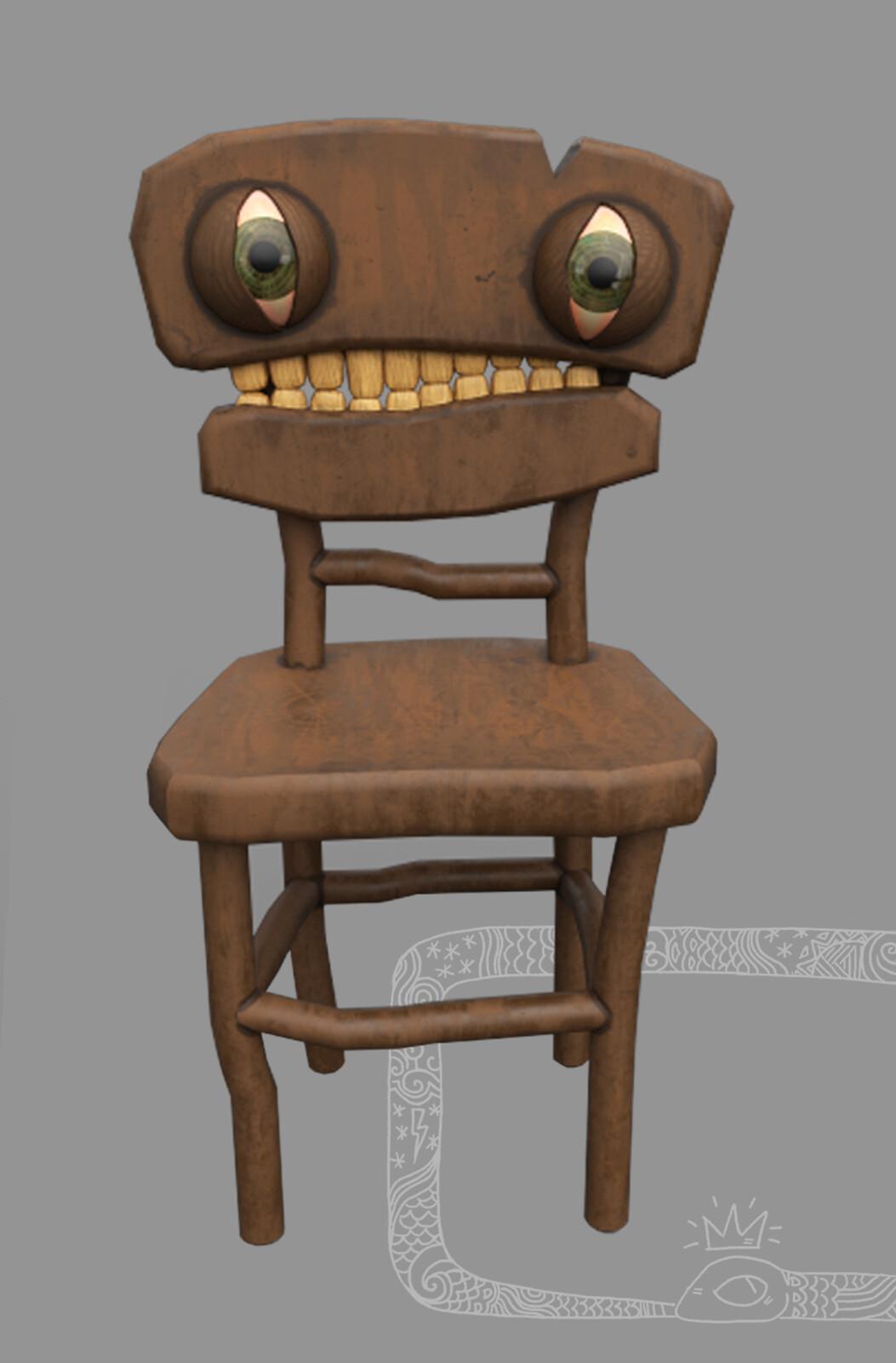 He has teeth