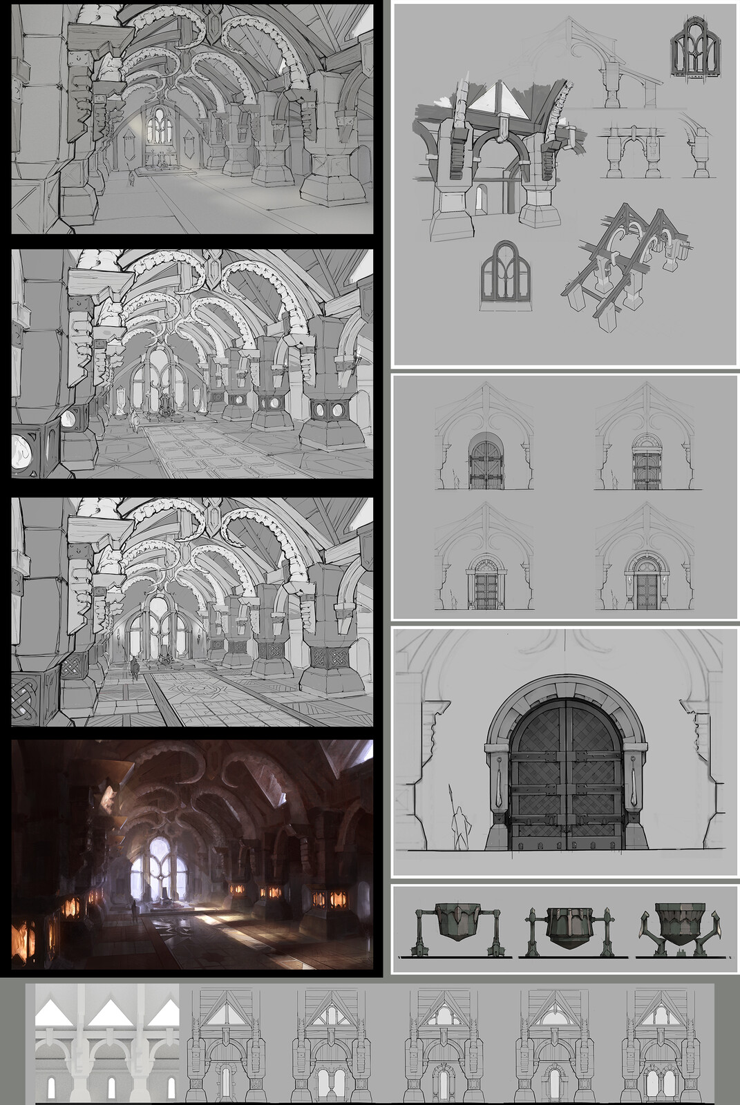 Interior Concept Art