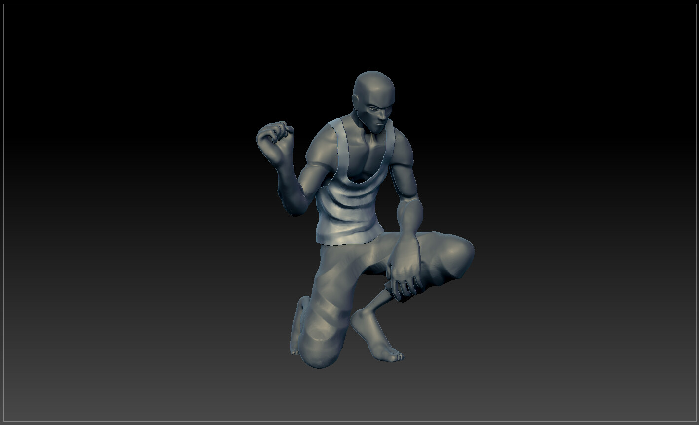 Sculpt progression 03