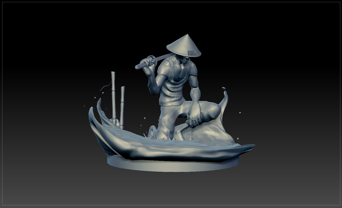 Sculpt progression 05