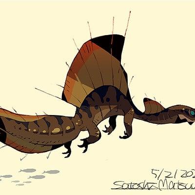 Satoshi matsuura 2020 05 01 spinosaurus s