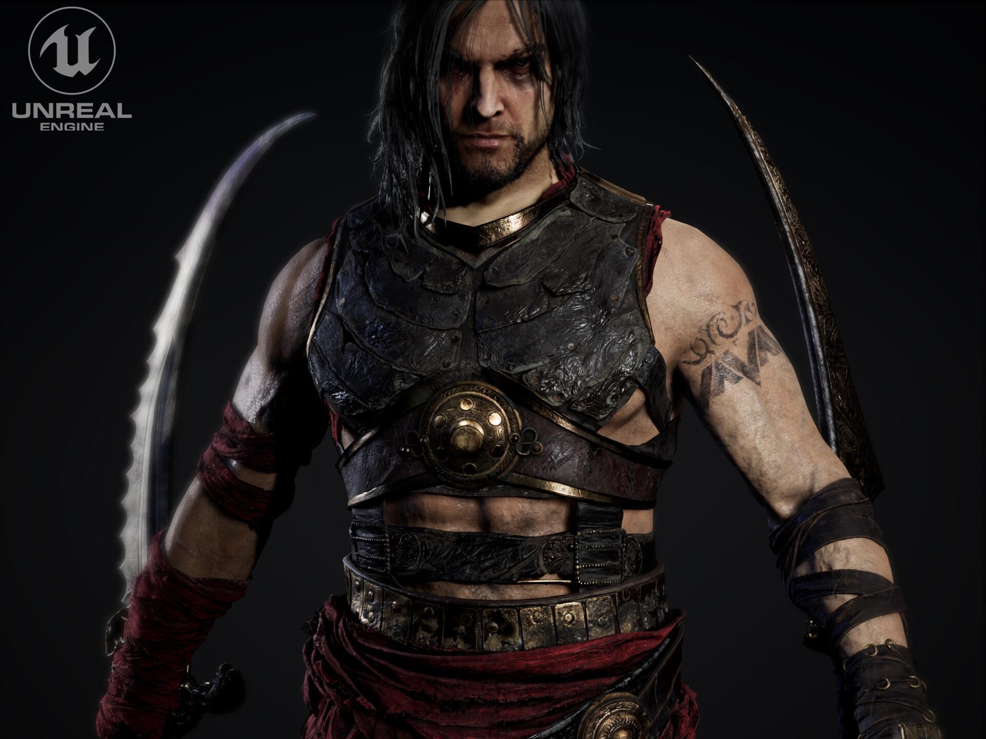 Artstation Prince Of Persia Warrior Within Unreal Engine Jakub Chechelski