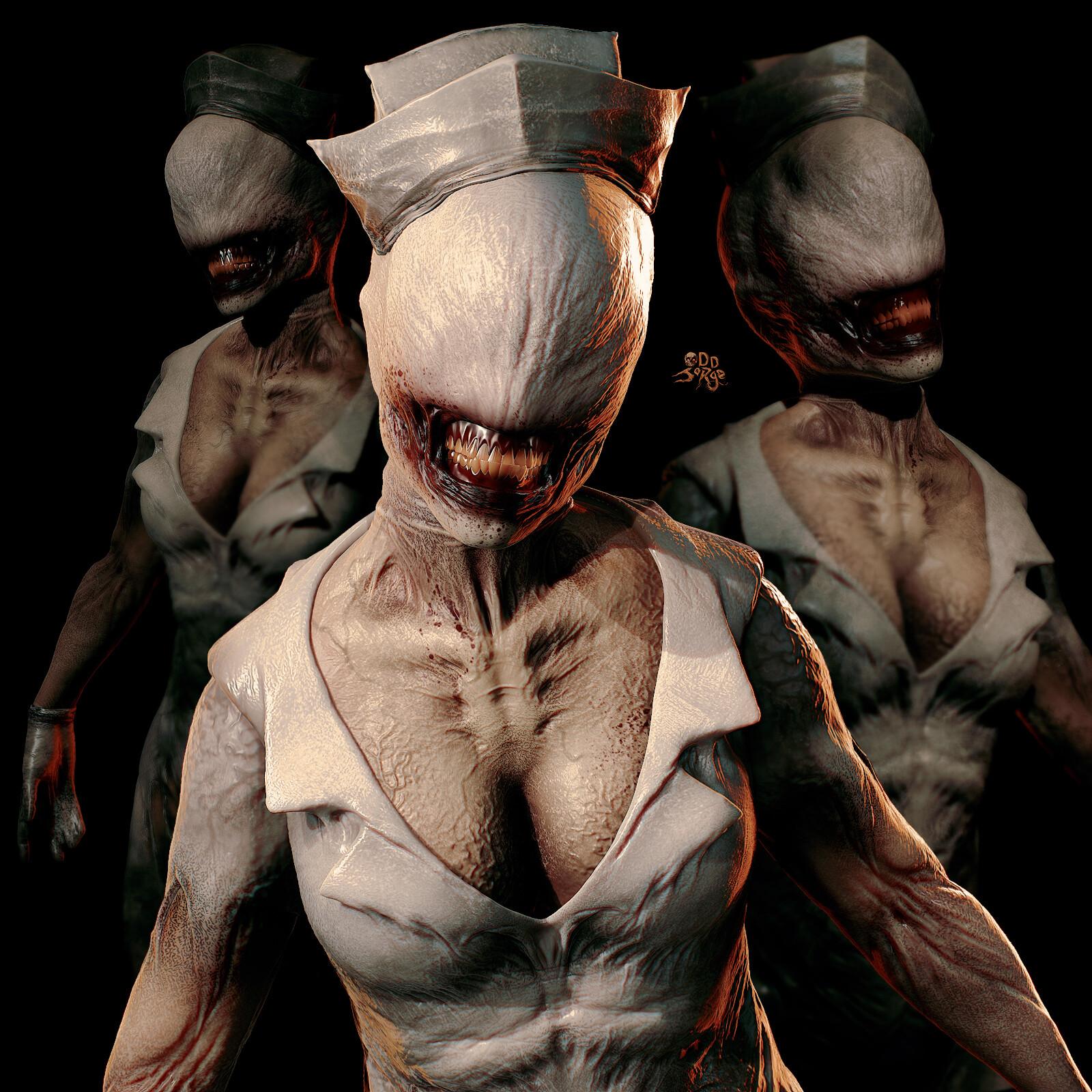 Odd Jorge Silent Hill 2 Redesign Part Iii Creatures