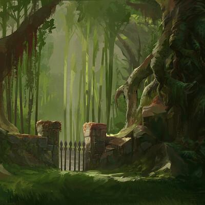 Tom garden sacred realm wolf03