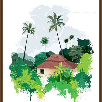 Rajesh r sawant konkan house minimal 02