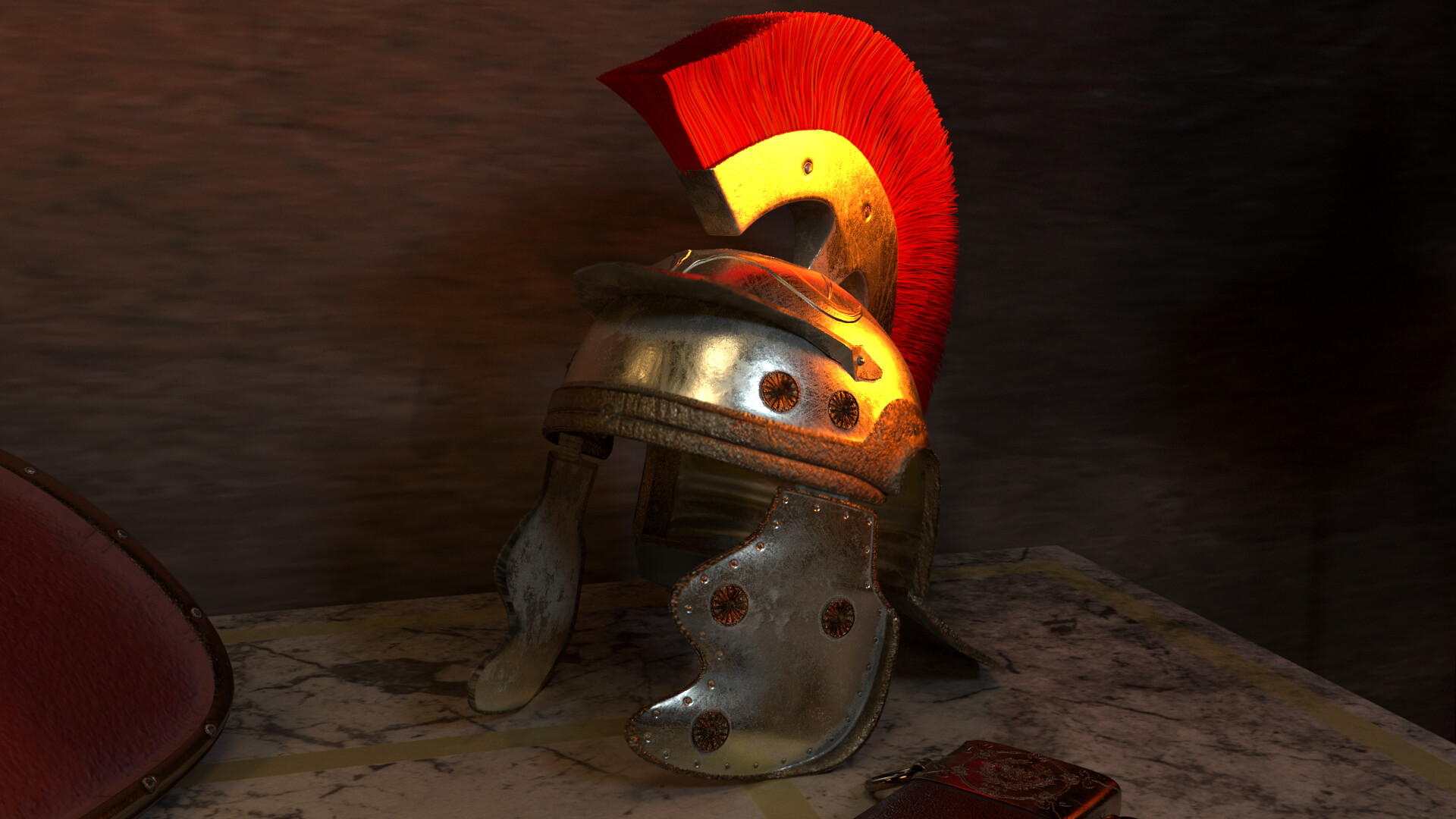 Galea ( Roman Helmet )