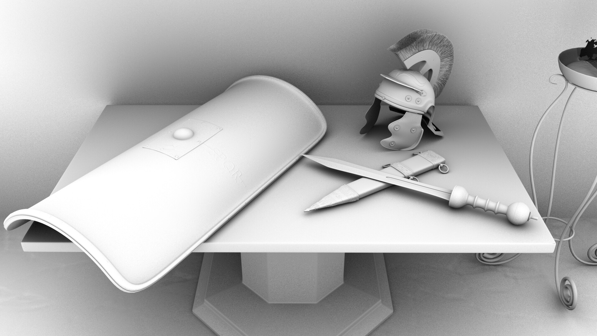 Shot 1 - Ambient Occlusion