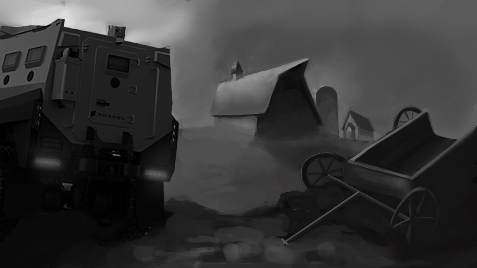 exterior barn rough