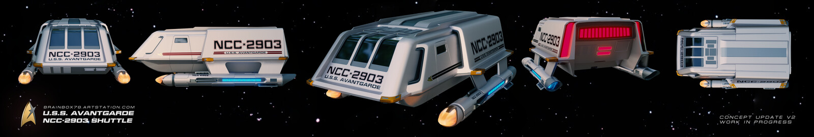 Avantgarde Shuttle Update V2