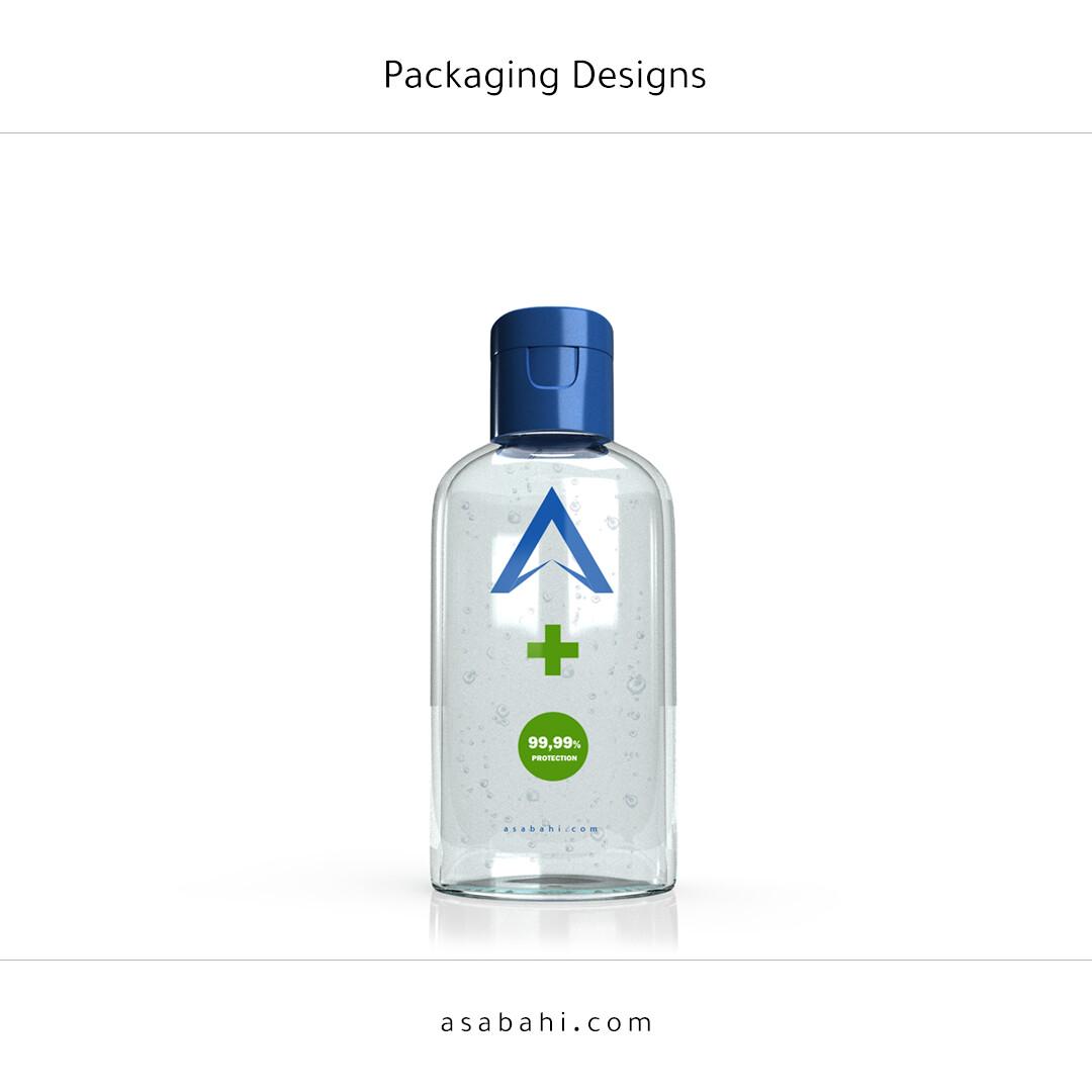 Sanitizer bottle design