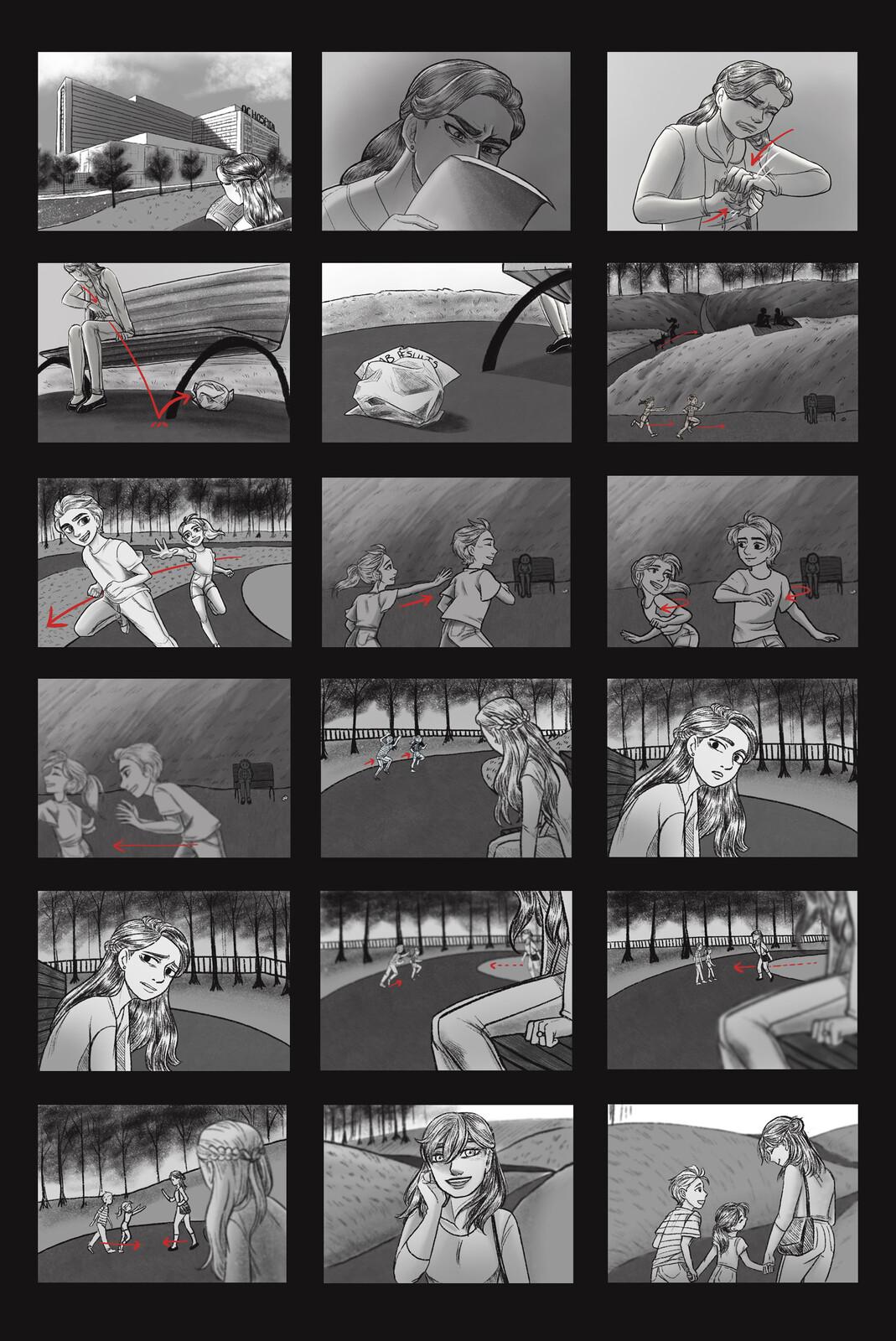 Storyboard 1/2.