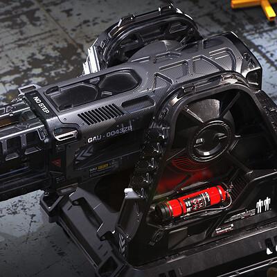 Edon guraziu gura laser turret topdown web