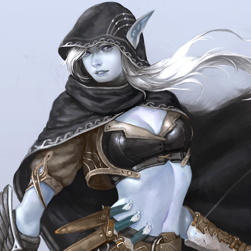 Dark elf concept