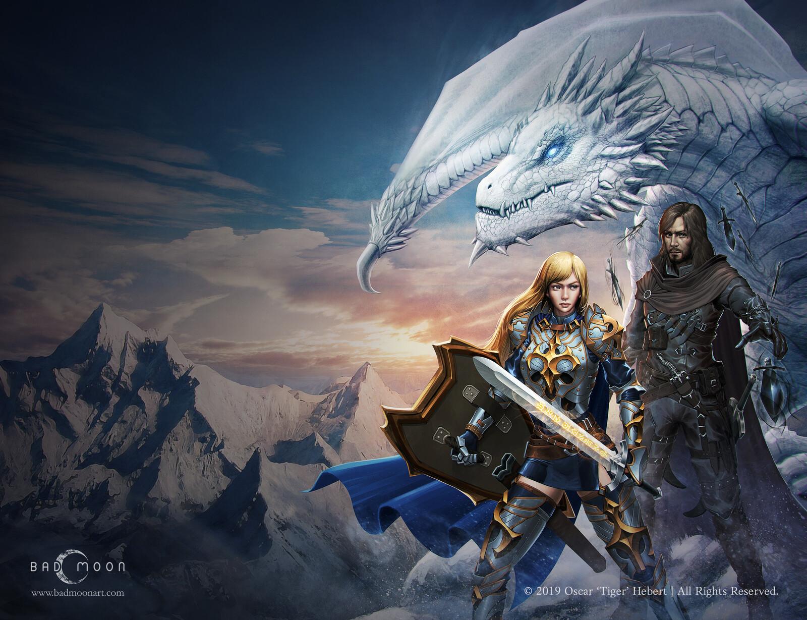 RiftBorn, Dark Pact, Demon Hunters Book I