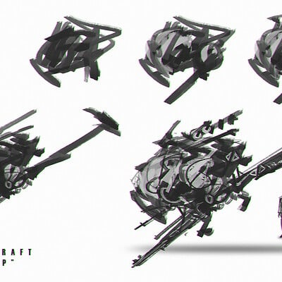 Benedick bana space craft design lores