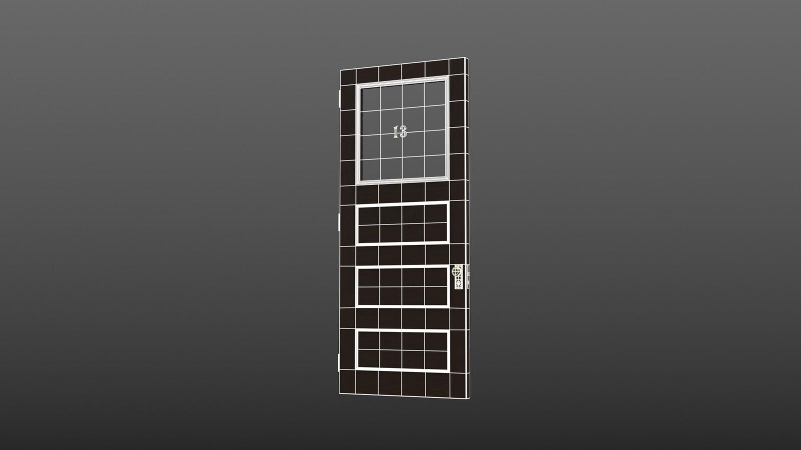 Door - wireframe
