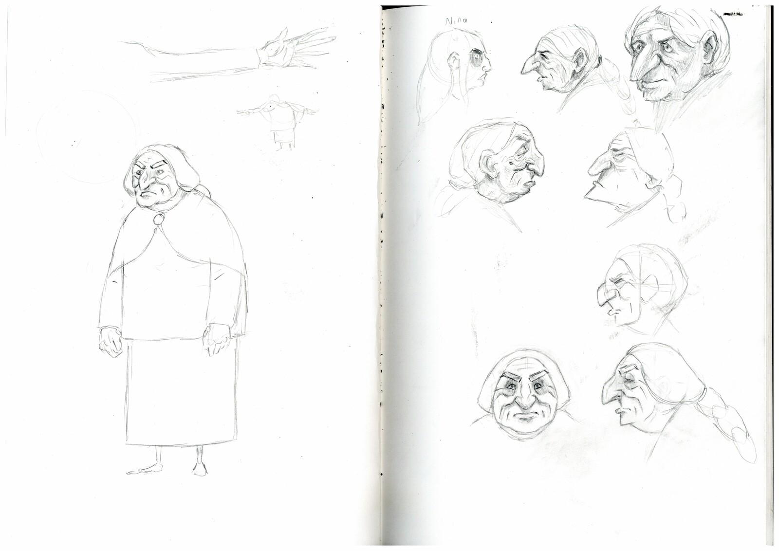 Early Grandma concepts.
