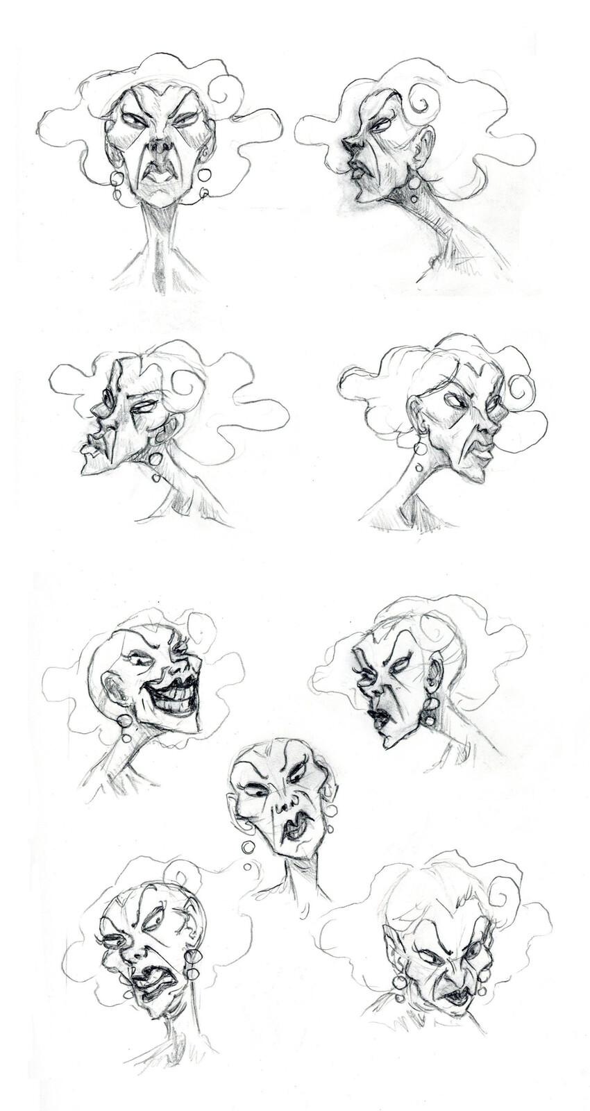 Veronique expression sheet.