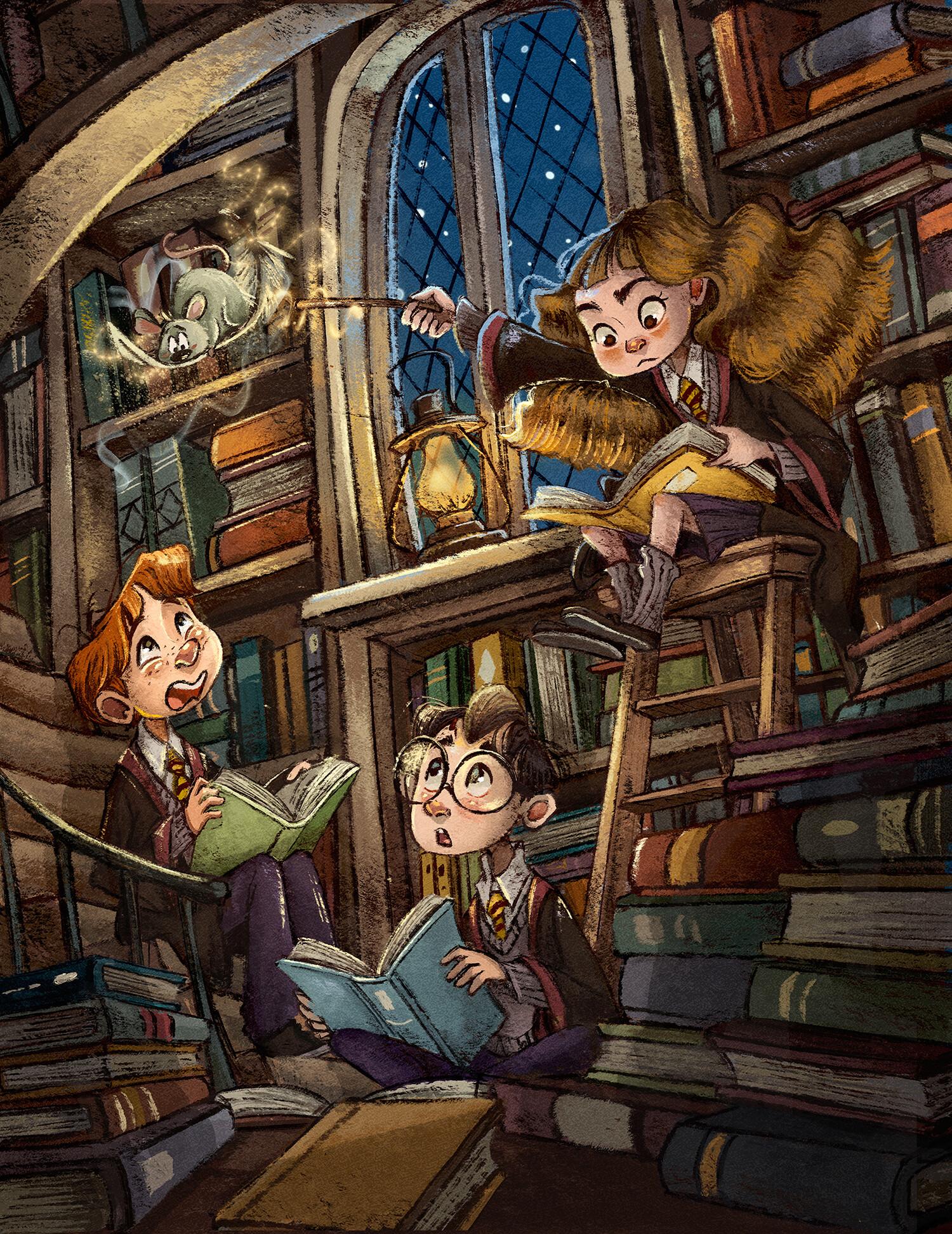 Artstation Harry Potter Fanart Fanny Wen