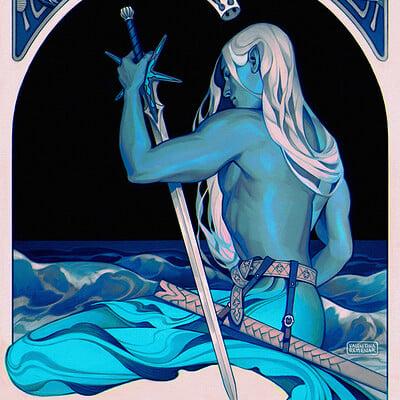 Valentina remenar deep blue sea by valentina remenar