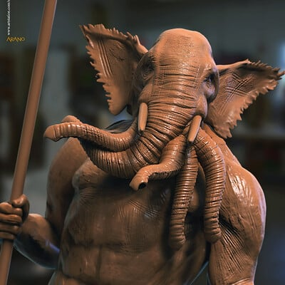 Surajit sen arano closed digital sculpture surajitsen may2020a