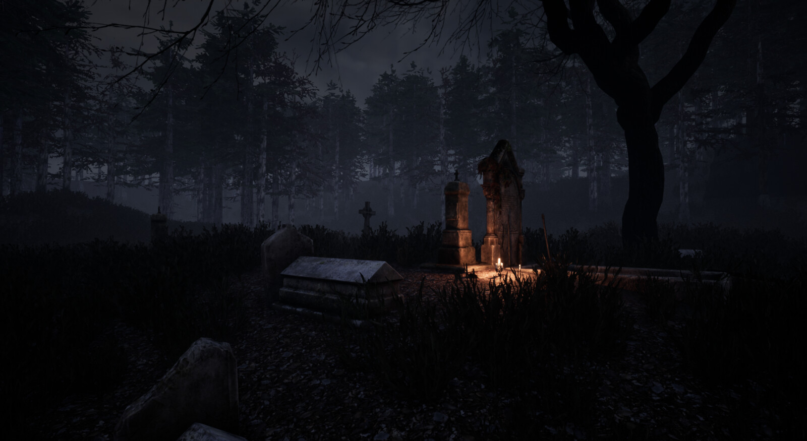 Horror FPS game Level done in Unreal engine4