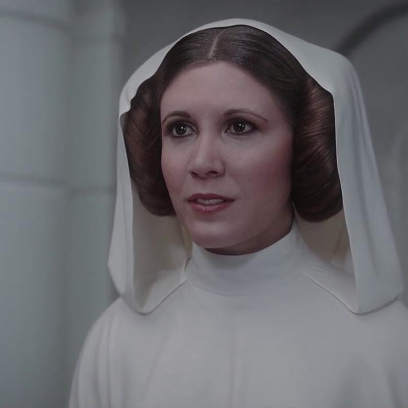 Rogue One - Princess Leia Texture