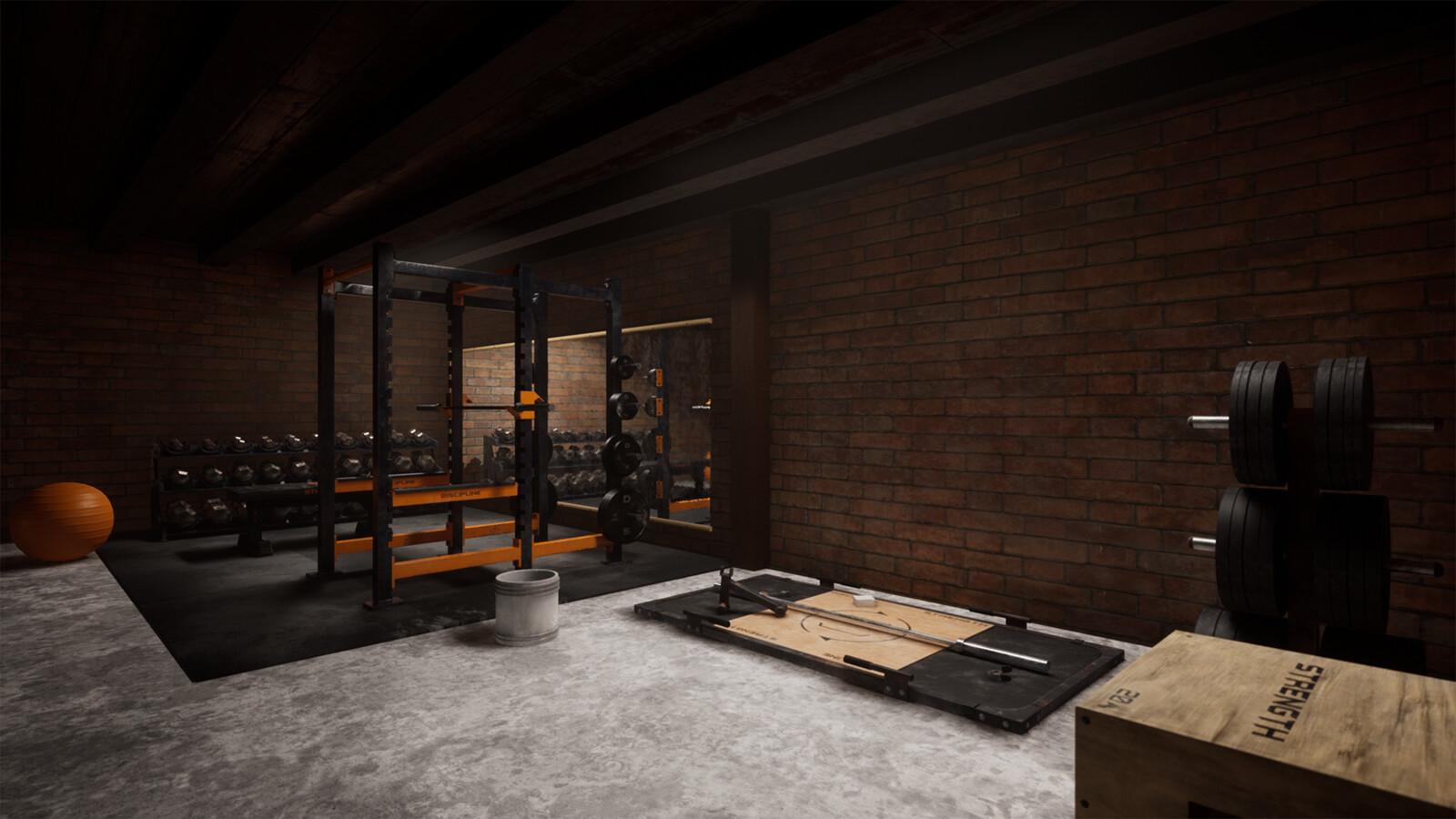 'Used Gym'