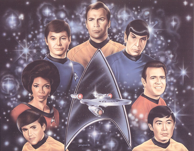 Classic Star Trek original cast