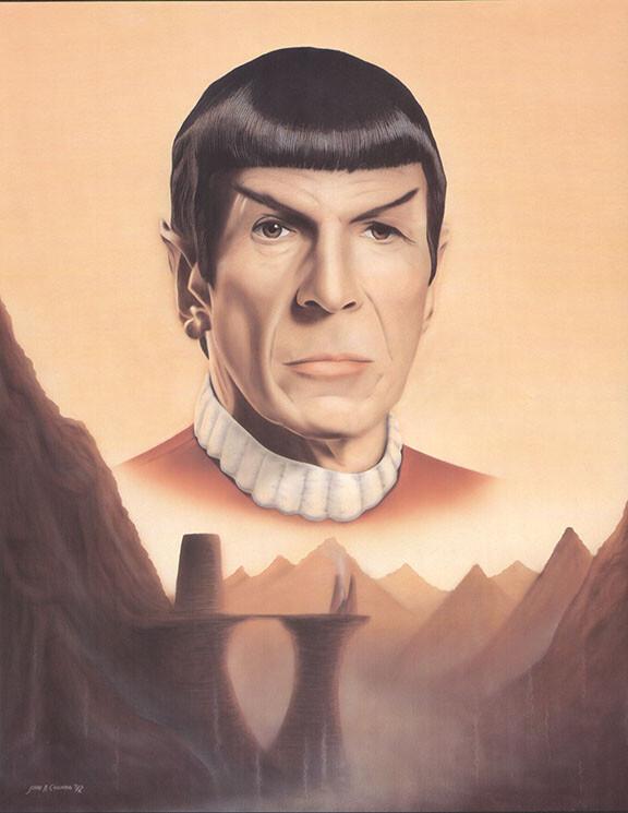 Spock on Mt Seleya