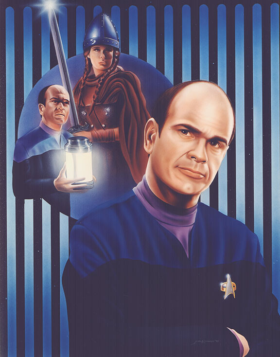 Robert Picardo as the Doctor