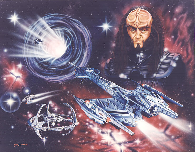 Gowron Star Trek Deep Space Nine