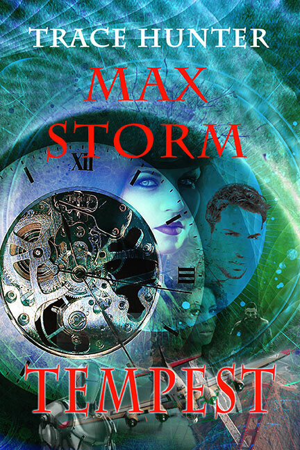 Book cover for the Max Storm series