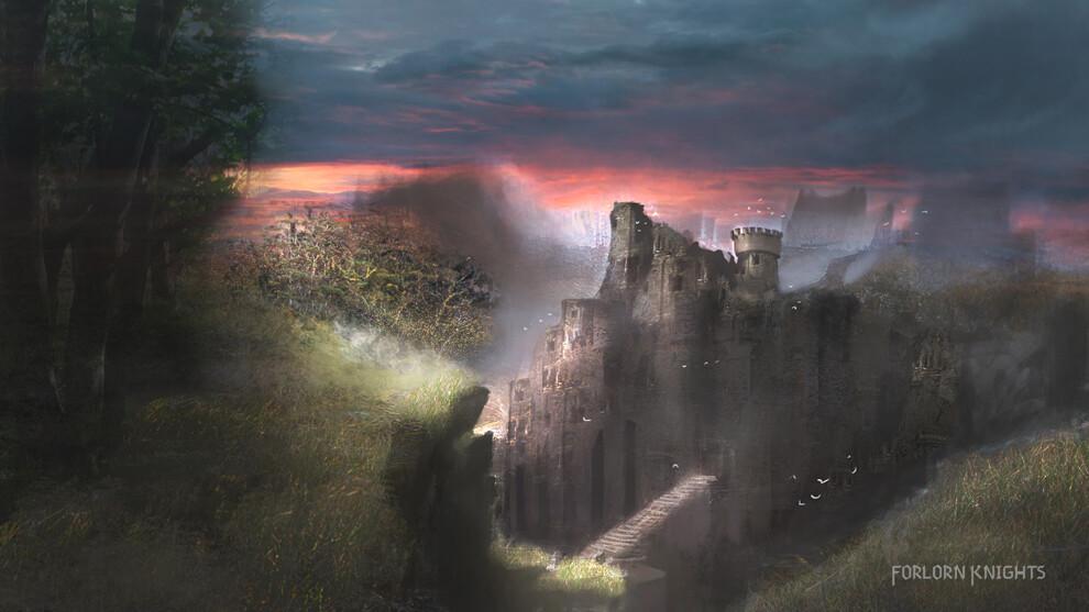 Rough concept for a ruin.