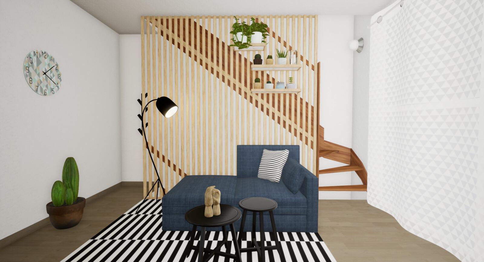 Living Room- Image Render
