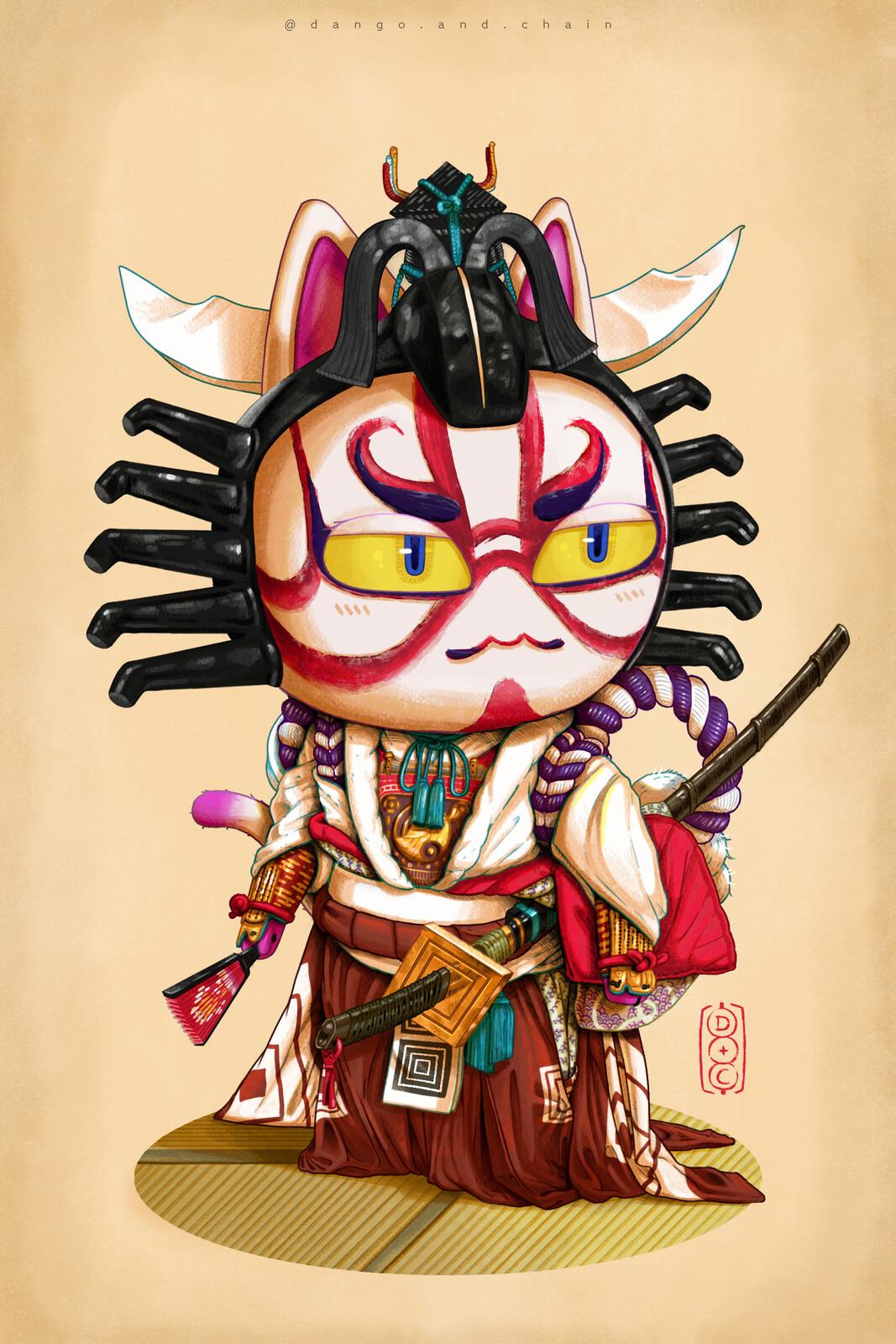 Kabuki - Fan art