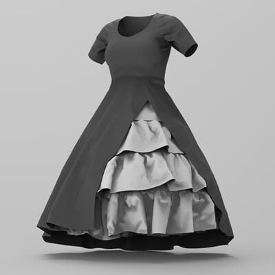 Tristan griffith inspiration dress