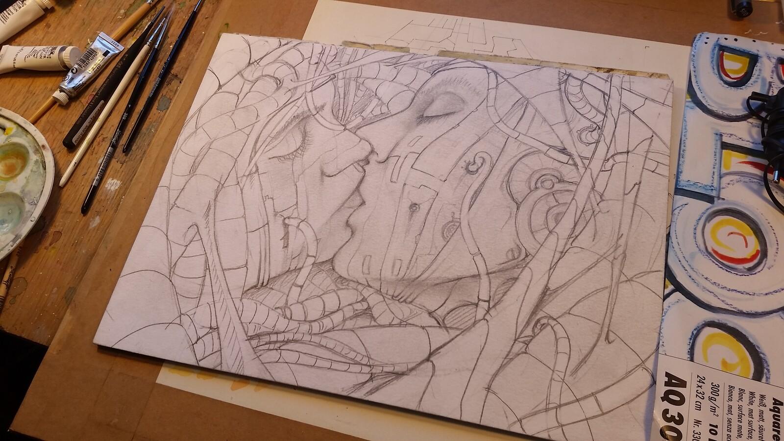 Work in progress: Pencil.