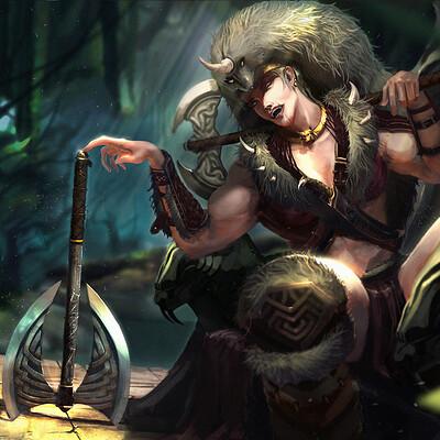 Aj ramos barbarian queen