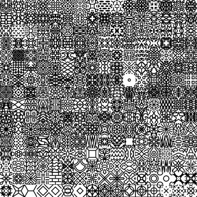 Rabbit klein design patternset unsorted gridsvg svg