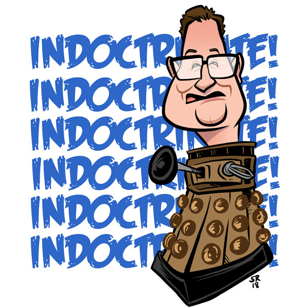 Chibnall as Dalek