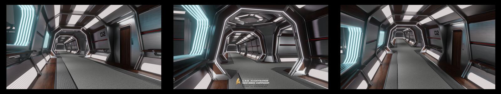 U.S.S. Avantgarde Corridor Concept V4 UDPATE