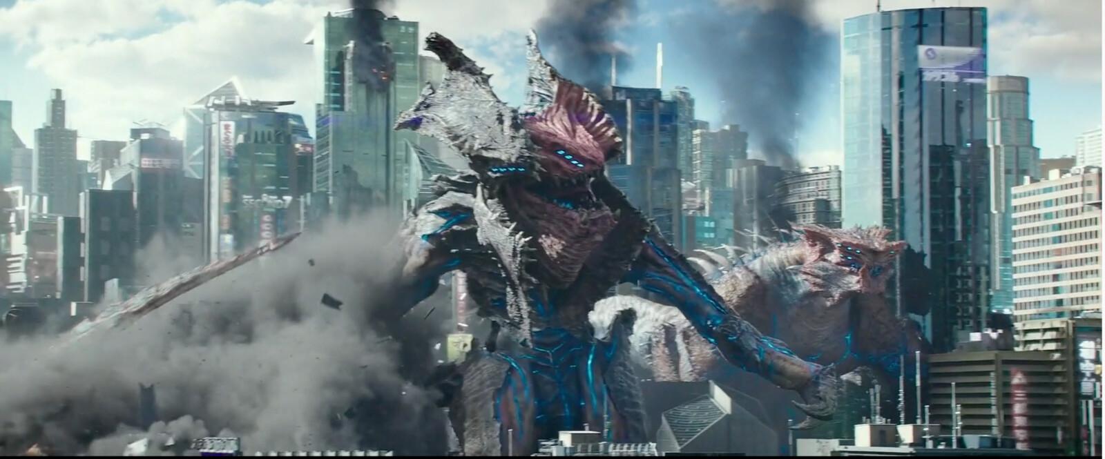 Pacific Rim: Uprising Kaiju creature design